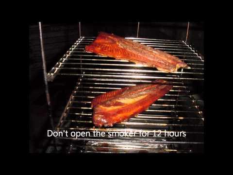 Aunt Duddie's Hungry Hubby Smokes Salmon