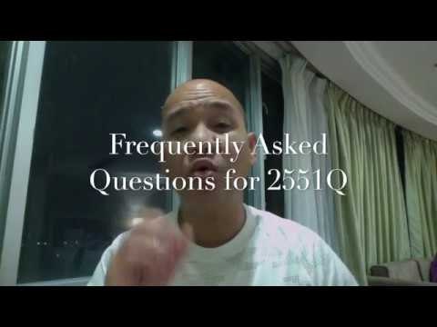 BIR Form 2551Q Frequently Asked Questions