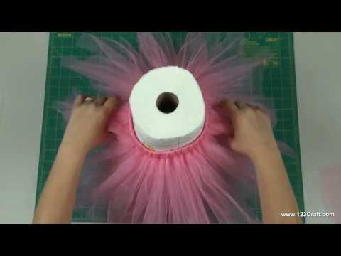 How To Make A No-Sew Tutu!
