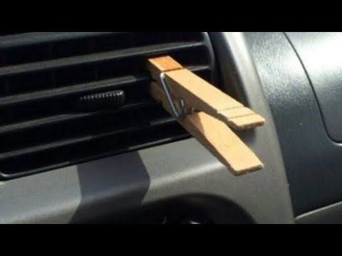 Here s Why Putting A Clothespin On A Car s Air Vent Is Actually Brilliant