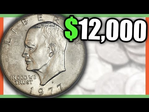 RARE IKE DOLLAR COINS WORTH MONEY - EISENHOWER DOLLAR COINS TO LOOK FOR!!