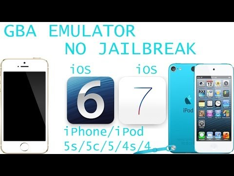 How To Install GBA Emulator on iPod Touch/ iPhone/ iPad  iOS 7, 6  NO JAILBREAK REQUIRED