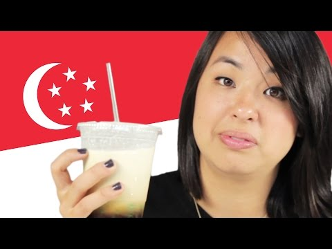 Americans Taste Test Singaporean Food