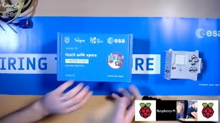Astro Pi kit unboxing