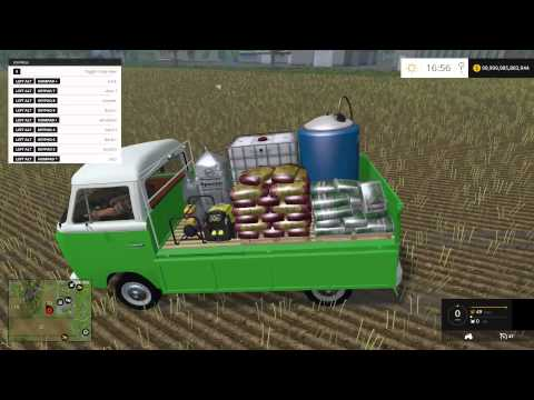 Farming Simulator 15 PC Mod Showcase: VW Seed/Fertilizer Cart