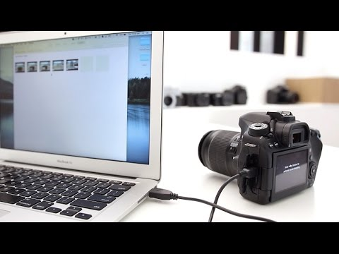 Canon 80D Tutorial - How to connect DSLR to your computer and control it (tether)