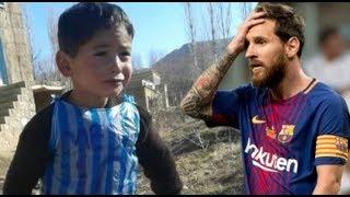 Lionel Messi İle Tanışan Çocuğun Hayatı Kabusa Döndü. - Poşet Formalı Messi'nin Kötü Sonu