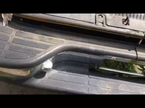 Quick trick to remove rust stains off chrome and plastic trim