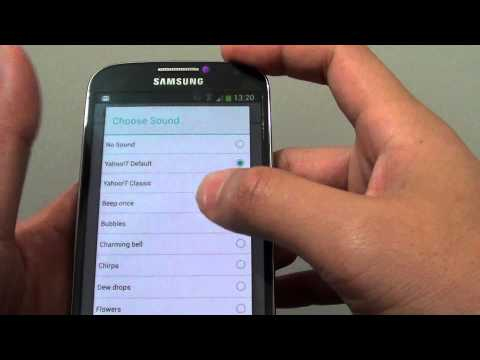 Samsung Galaxy S4: Can you Customize Notification Sound For Individual App?