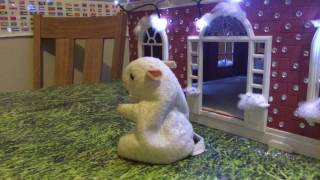 CHRISTMAS DIY - CHEEZERS Festive House made using our old Sylvanian  (Calico Critters) house
