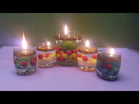 Amazing Candle for Water | DIY Diwali Special Decorations