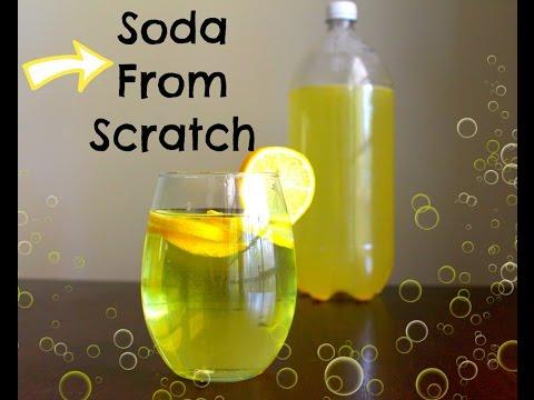 How to Make Homemade Soda - DIY Recipe