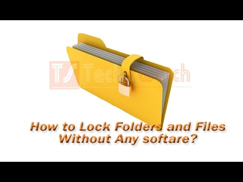 how to folder lock in windows 7