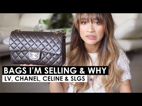 BAGS & SLGS I'M SELLING & WHY | Louis vuitton, Chanel, Celine Bags & SLG