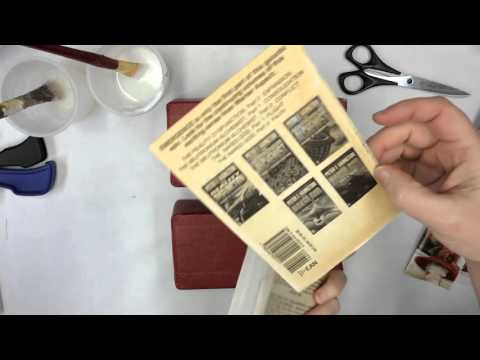Paperback Book Repair: Save Your Books