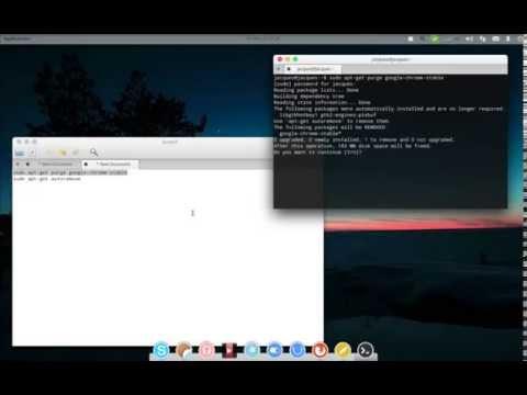 How to uninstall Google Chrome on linux (Elementary OS, ubuntu, mint)
