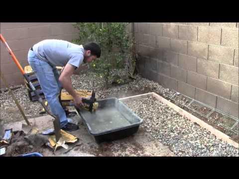 Outdoor Kitchen TV (Concrete Pad)