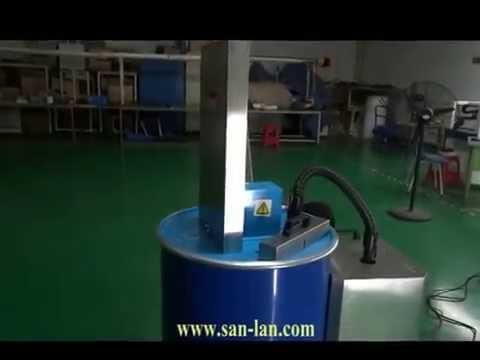 Fluorescent light tube recycling  machine (bulb eater)