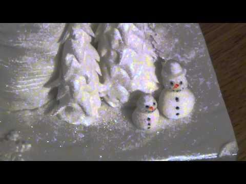 Winter Wonderland Christmas Cake