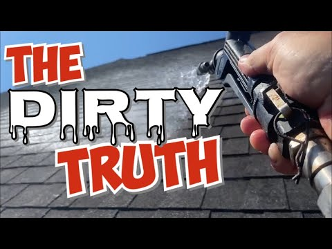 The Truth About Roof Cleaning and Roof Algae - Savannah, Georgia Pressure Washing