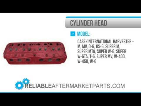 2084 364586R11 New IH Farmall Cylinder Head 400 450 Super M MTA MV O 6 W 6 Gas LP +