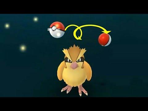 Double Bounce Catch Trick Pokemon Go