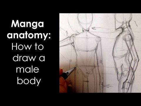 Manga Anatomy How To Draw Male Body Full Lesson