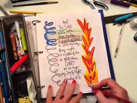 How to Make a Faith Art Journal