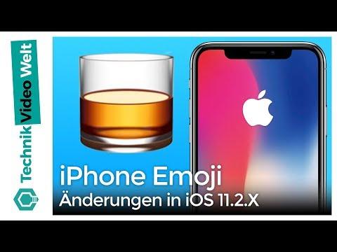 iPhone Emoji Änderungen in iOS 11 2 X