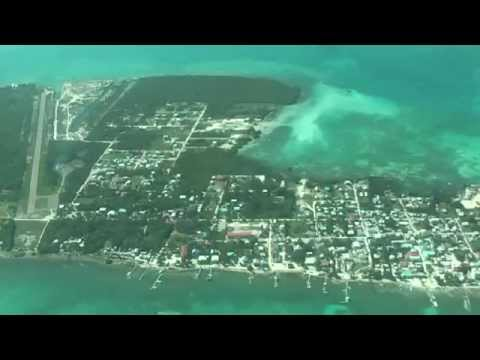 Travel memories... Belize, flying from Belize City to San Pedro