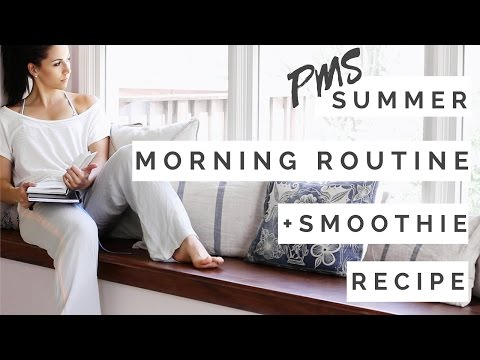 Morning Routine On Your PERIOD! PMS Hacks + Smoothie Bowl Recipe!