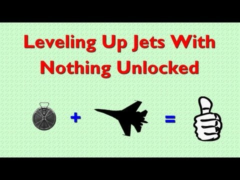 Leveling Up Jets With Nothing Unlocked (Battlefield 3)