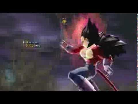 Dragon Ball Z Budokai 3 HD Collection (PS3) - Goku vs Vegeta