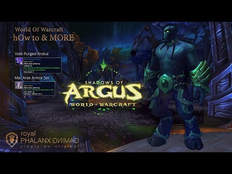 Unlocks access to Mac'Aree Followers and Equipment Missions