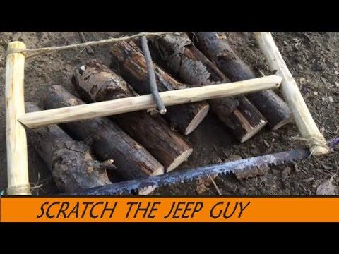 Improvise a Bushcraft saw