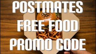 New POSTMATES free food promo code !! Feb 2021