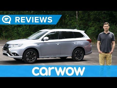 Mitsubishi Outlander PHEV 2018 SUV in-depth review   Mat Watson Reviews