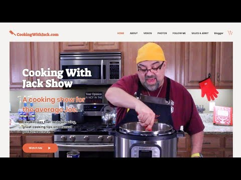 Jack Builds A New WIX Website