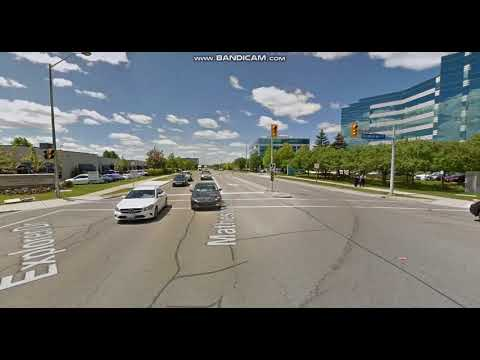 Etobicoke G2 (G1 Exit) test Route 1 on Google maps