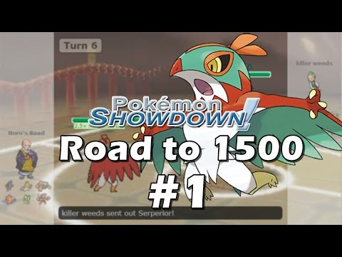 Road to 1500 Elo Part 1: Hawlucha Clean Sweeps [Gen 6 OU] | Pokemon Showdown ORAS