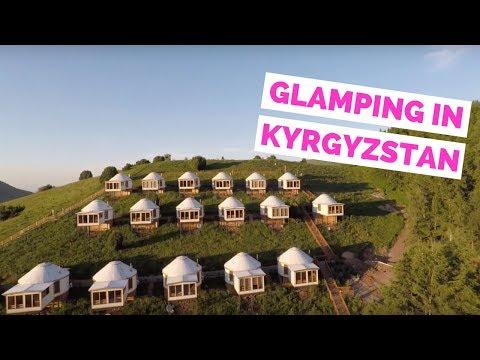 Glamping in Kyrgyzstan | Luxury Yurt Tour