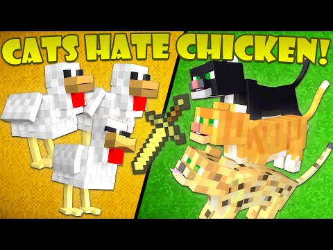 Why Cats Hate Chickens - Minecraft