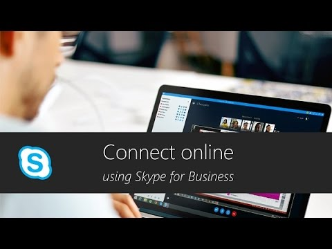 Connect from anywhere using Skype for Business
