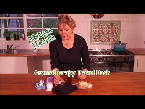 Aromatherapy Travel Pack with Essential Oils