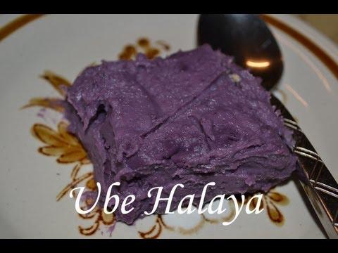 Ube Halaya