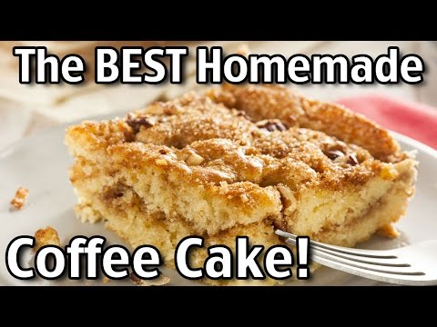 The BEST Homemade Coffee Cake!