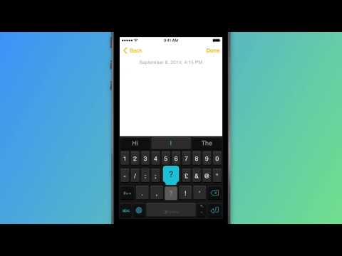 How to access symbols - SwiftKey Keyboard for iPhone, iPad and iPod touch