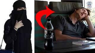 امرأة جميلة  لن تصدق ماذا فعلت هذه المرأة في رجل يجلس بجانبها في القطار   قصه ستصدمك !!