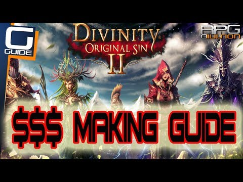 DIVINITY ORIGINAL SIN 2 - Best Way to make Loads of Gold (Pickpocketing Guide)