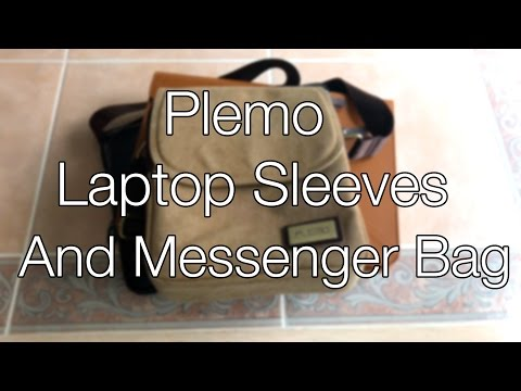 Plemo Laptop Sleeves and Messenger Bag // Reviews